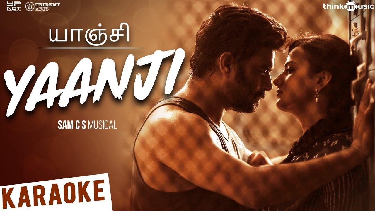 Vikram Vedha Yaanji Song Karaoke R Madhavan Vijay Sethupathi Sam C S Anirudh Youtube