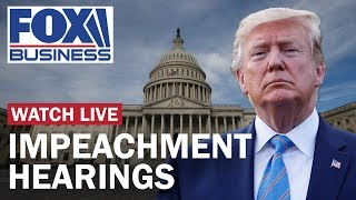 Trump impeachment hearing in House Judiciary Day 1