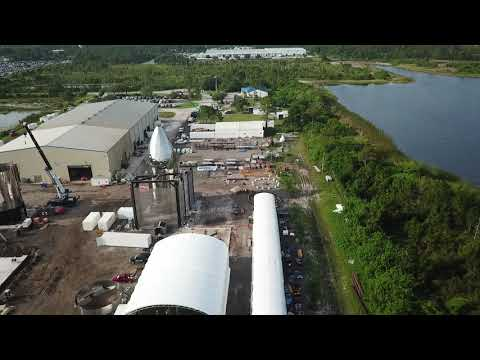 SpaceX's Florida Starship shown off in aerial footage as Texas prototype grows rapidly