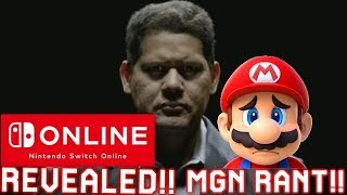 Massive News: Nintendo Switch Online Revealed   Cloud Save   Membership Prices   NES Games & Rant!!!