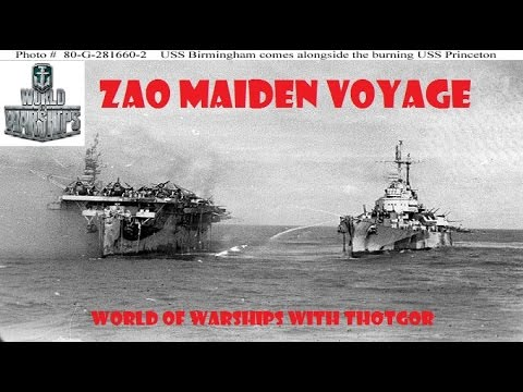 World of Warships- Zao Maiden Voyage