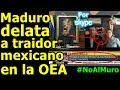 Nicolás Maduro por Skype nos revela qué mexicano nos traicionó con el MURO de Donald Trump.