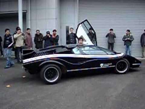 Lamborghini Countach LP500R カウンタックリバース V12 Extreme sound ランボルギーニ