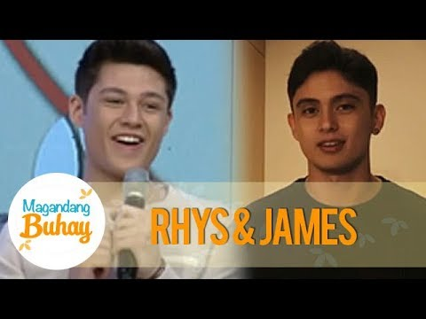 Magandang Buhay: Rhys gets a message from James Reid!