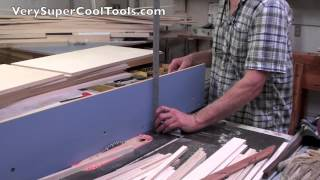 Table Saw Fence Fine Tuning Is Easy With Verysupercool Aluminum Extrusion Fence