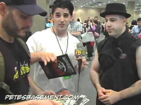 Alan Robert, Creator of Wire Hangers, Exclusive interview at 2010 NY Comic Con