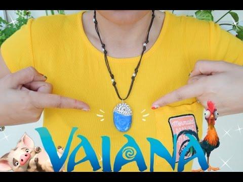 215deb8eb15a Collar de Vaiana Moana - YouTube