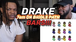 DRAKE W/ ALL BARS - 7am on bridle path (REACTION)