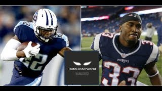 Derrick Henry vs. Dion Lewis: Who will be the better running back for fantasy football?
