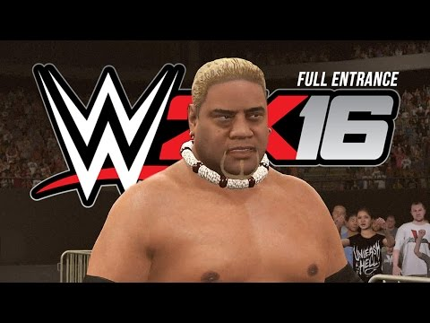 WWE 2K16 Rikishi Entrance & King of The Ring Arena (World Premiere)