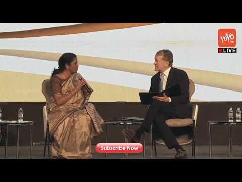 Nirmala Sitharaman Debate On Women Empowerment At Global Entrepreneurship Summit |YOYO TV Channel