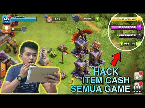 CARA CHEAT ATAU HACK ITEM CASH / SHOP SEMUA GAME IOS DAN ANDROID 2019!! AUTO DEWA !!