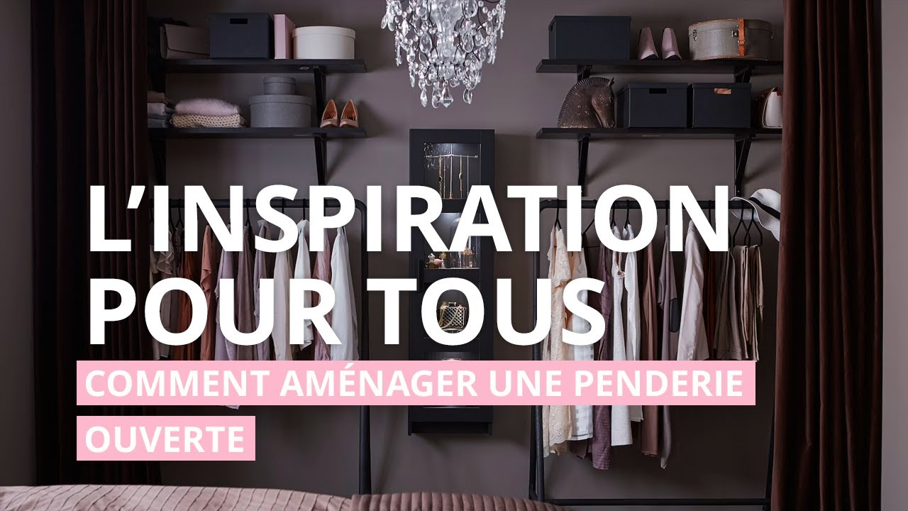 ikea la penderie fait son show youtube. Black Bedroom Furniture Sets. Home Design Ideas