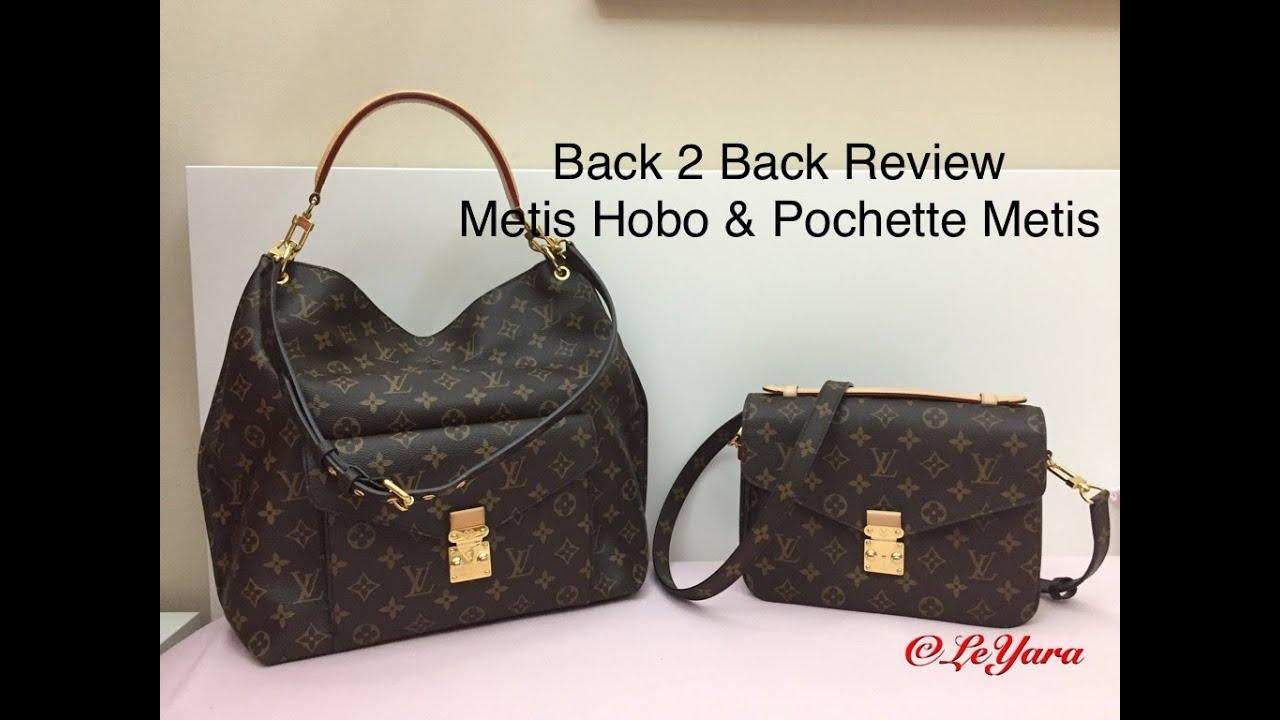 78743b60d4abb Louis Vuitton METIS HOBO & POCHETTE METIS Review - YouTube
