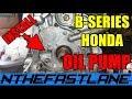 Oil Pump Install Honda B-series