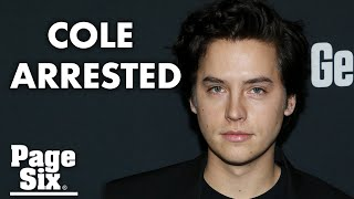 cole-sprouse-speaks-arrest-la-protest-page-celebrity-news