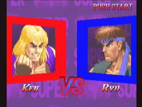 [未編集] Ken(ケン) - SUPER STREET FIGHTER II X for 3DO on GV-VCBOX