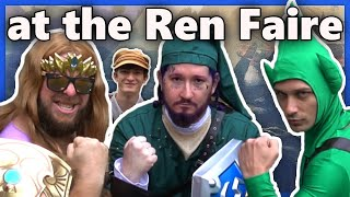 The Boys set off on an adventure to find the Ocarina of Time at the Renaissance Festival!