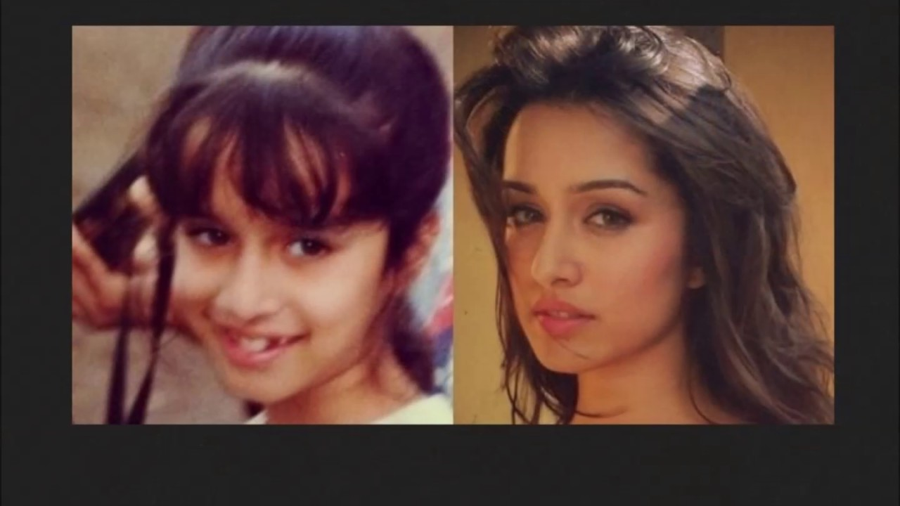 Shraddha Kapoor Childhood Picture
