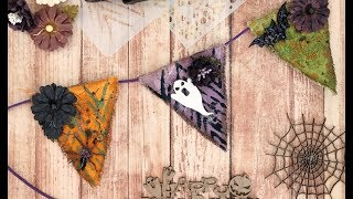 Southern Ridge - Mini Halloween Banner Tutorial