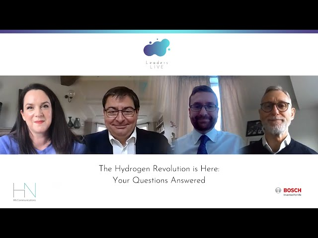 The Hydrogen Revolution is Here - Your Questions Answered | Leaders Live Webinars