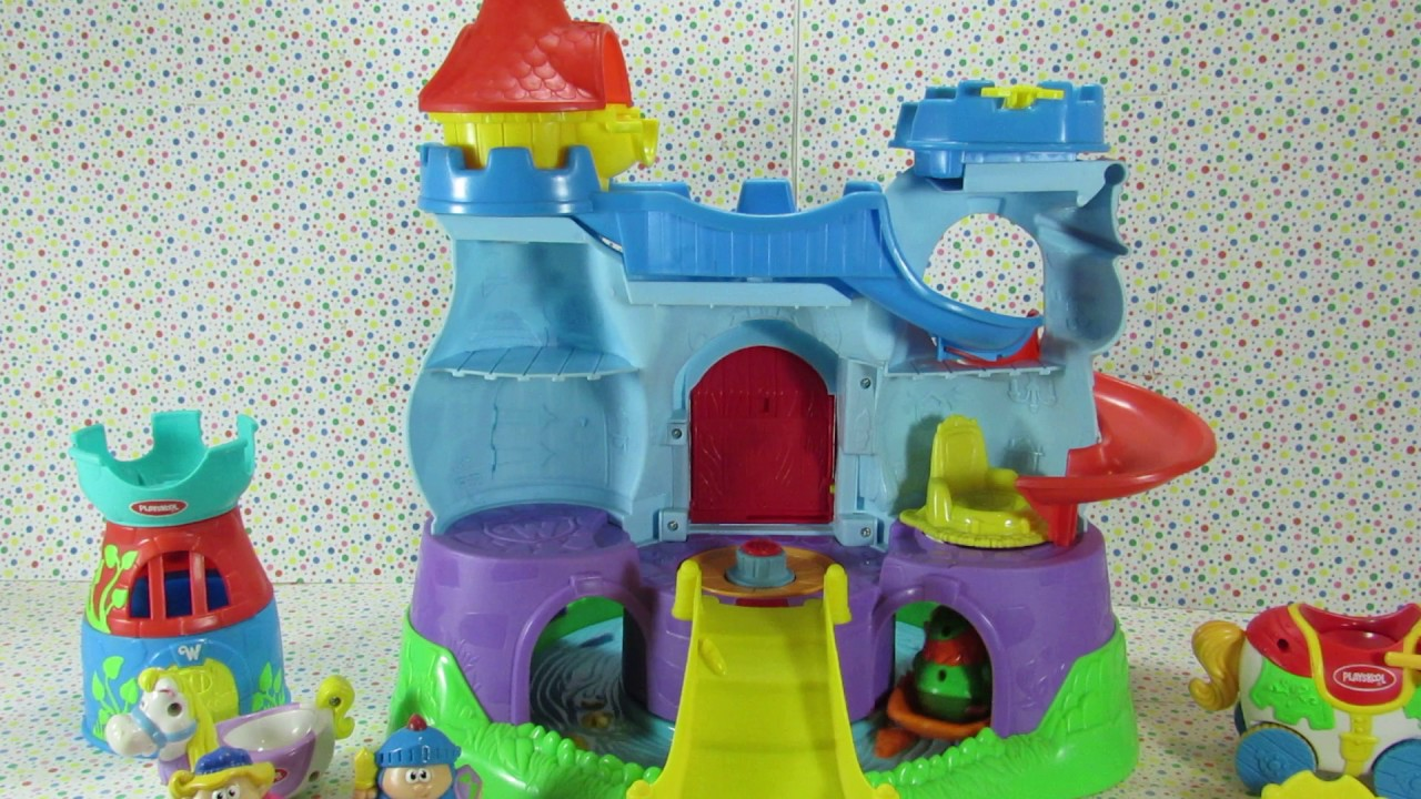 Playskool Weebles Musical Treehouse Part - 32: Playskool Weebles Story Book Castle
