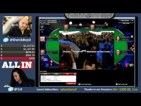 Dutch Boyd Navigating Through the $20k Guarantee - WSOPs Big Sunday Online Poker Tournament