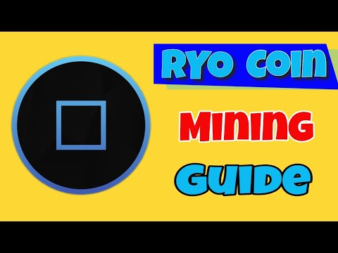 ALTCOIN | Speculative | Mining | RYO Coin | Cryptonight GPU