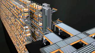 видео: Проект автоматизированного склада FMCG