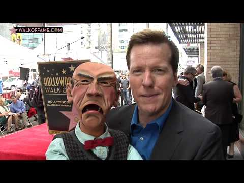 JEFF DUNHAM HONORED WITH HOLLYWOOD WALK OF FAME STAR