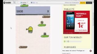Doodle Jump sur Internet en ligne - Vidéo Test