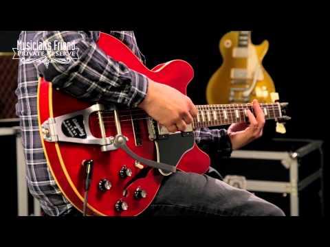 MFPR Comparison: Gibson Custom '57 Les Paul VOS VS. Gibson Rich Robinson ES-335