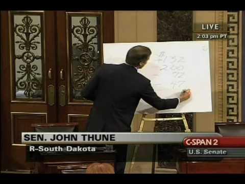 Sen. John Thune Channels Glenn Beck