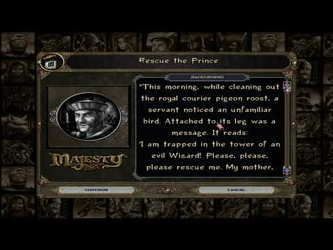 """Playing More Majesty Gold HD on PC: 'Rescue the Prince"""" RagedCage Plays The Fantasy Kingdom Sim  """
