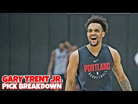 Portland Trail Blazer's Draft Pick - 2018 NBA Draft - Gary Trent Jr.