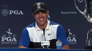 Brooks Koepka's 2019 PGA Championship FULL press conference