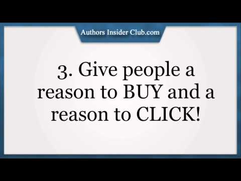 3 About The Author Kindle Tips