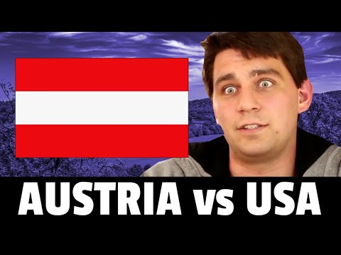 American REACTS to Austrian Lifestyle  Austria Is Amazing