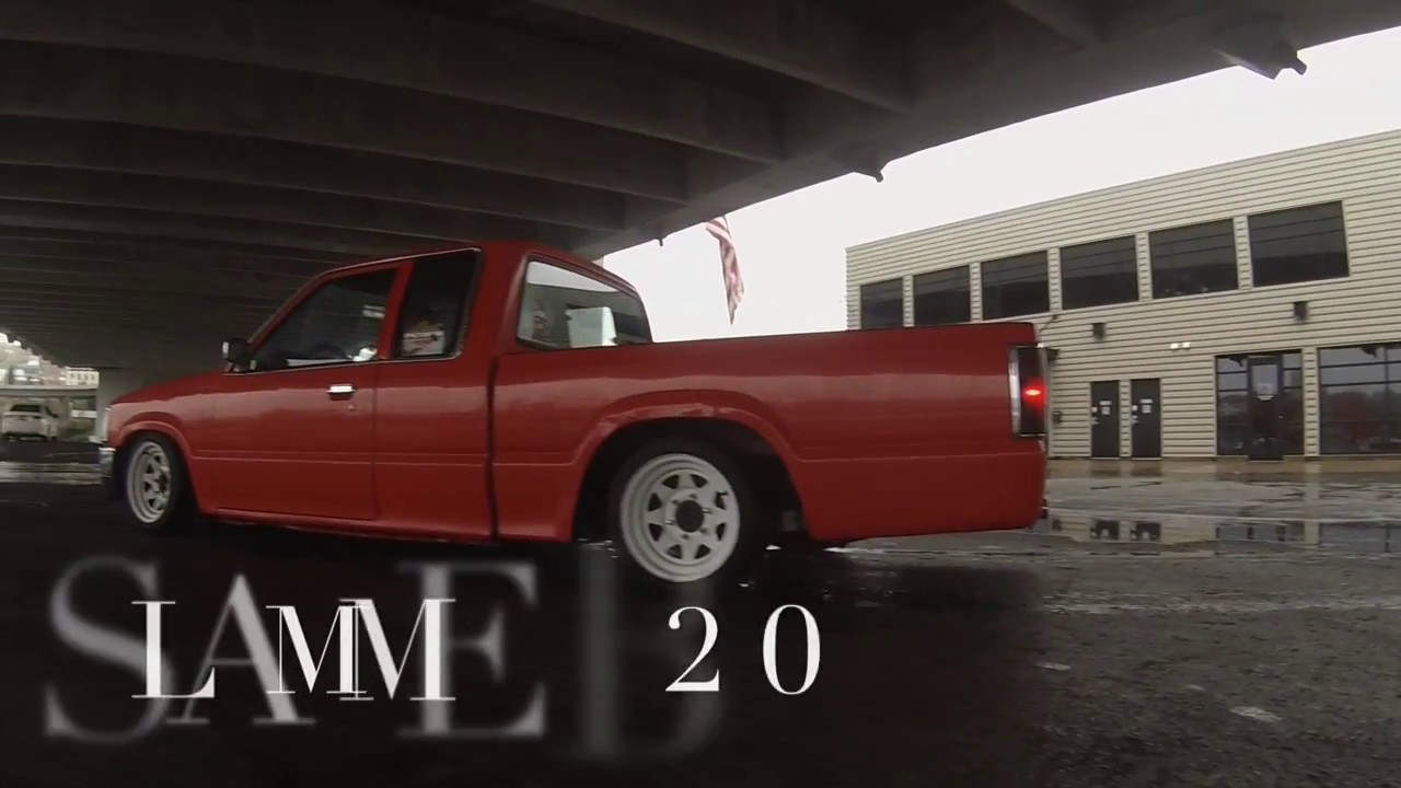 medium resolution of mazda b2200 slammed truck by nwoutlowz
