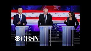 Democratic debate showdown: Rifts emerge over race and age