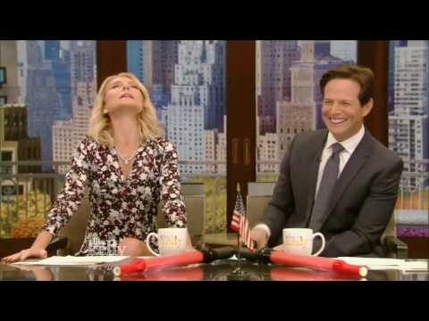 Live With Kelly 11/01/2016 co-host Scott Wolf: Benedict Cumberbatch: Gabrielle Union