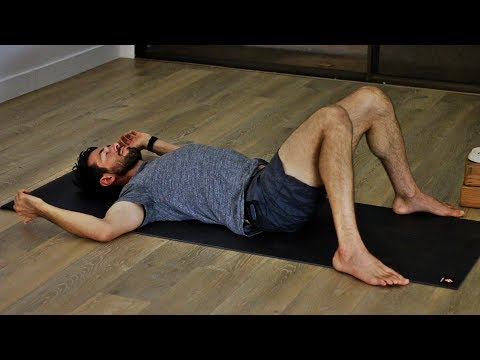 Bedtime Yoga to Release Sore Muscles and Calm Your Nerves I Yoga With Tim