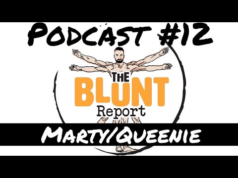 Podcast 12 MartyQueenie - Drag Queens Comedy & Emotional Outlets