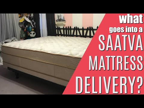 What goes into a Saatva Mattress Delivery?