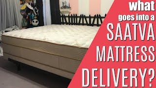 What Goes Into A Saatva Mattress Delivery? Reviews