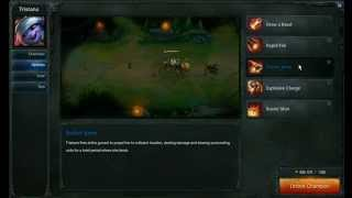 Tristana abilities - League of Legends