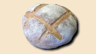Немецкий сельский хлеб с пивом