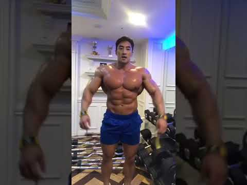 Musclemania Pro Chul Soon Back Workout