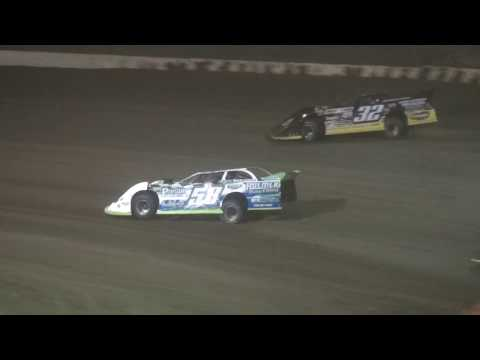 7th Annual Bill Waite Jr. Memorial Classic Late Model feature LaSalle Speedway 9/24/17