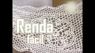 RENDA SUPER FÁCIL  #PASTA DE GOMA OU PASTA DE FLORES